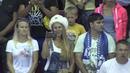Солистка Opera Yard Дарья Давыдова (сопрано) исполнила гимн РФ на открытии матча Сочи-Кунлун КХЛ
