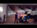 Shebalin Sonata for Viola part 1 2 live