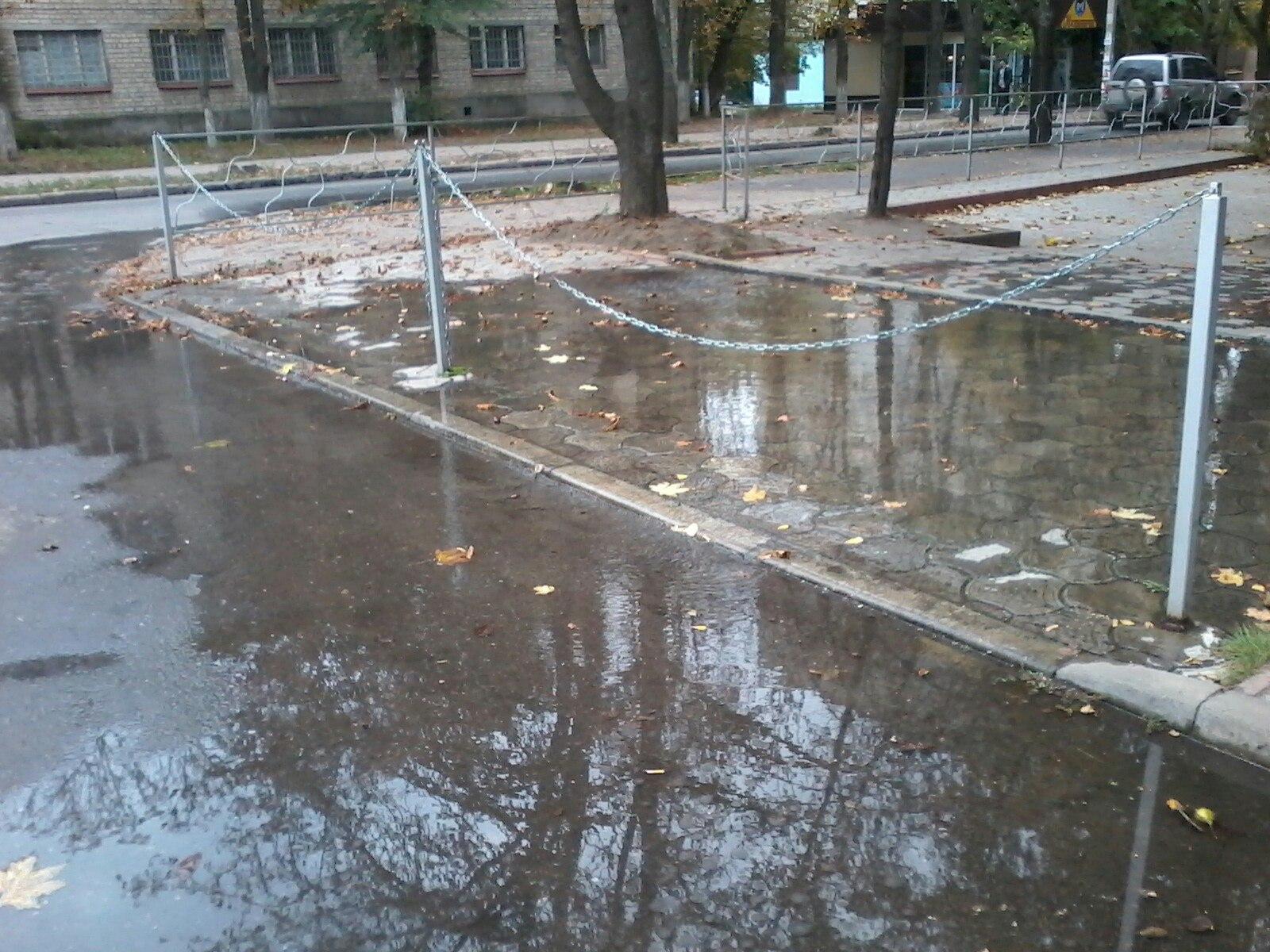 Пользователи соцсетей: В Харькове появляется все больше новых водоемов