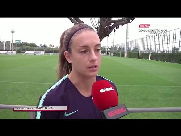 Alexia Putellas nos da la clave de la eliminatoria contra el Kazygurt