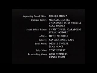 Movie End Credits #723 Stepmom