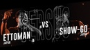 ETTOMAN (JPN) vs SHOW-GO (JPN) |Asia Beatbox Championship 2018 TOP8 Solo Battle