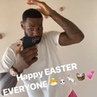 """Longest my hair's been in a long time Might keep it though""""Bron's feeling good on Easter morning"""""""