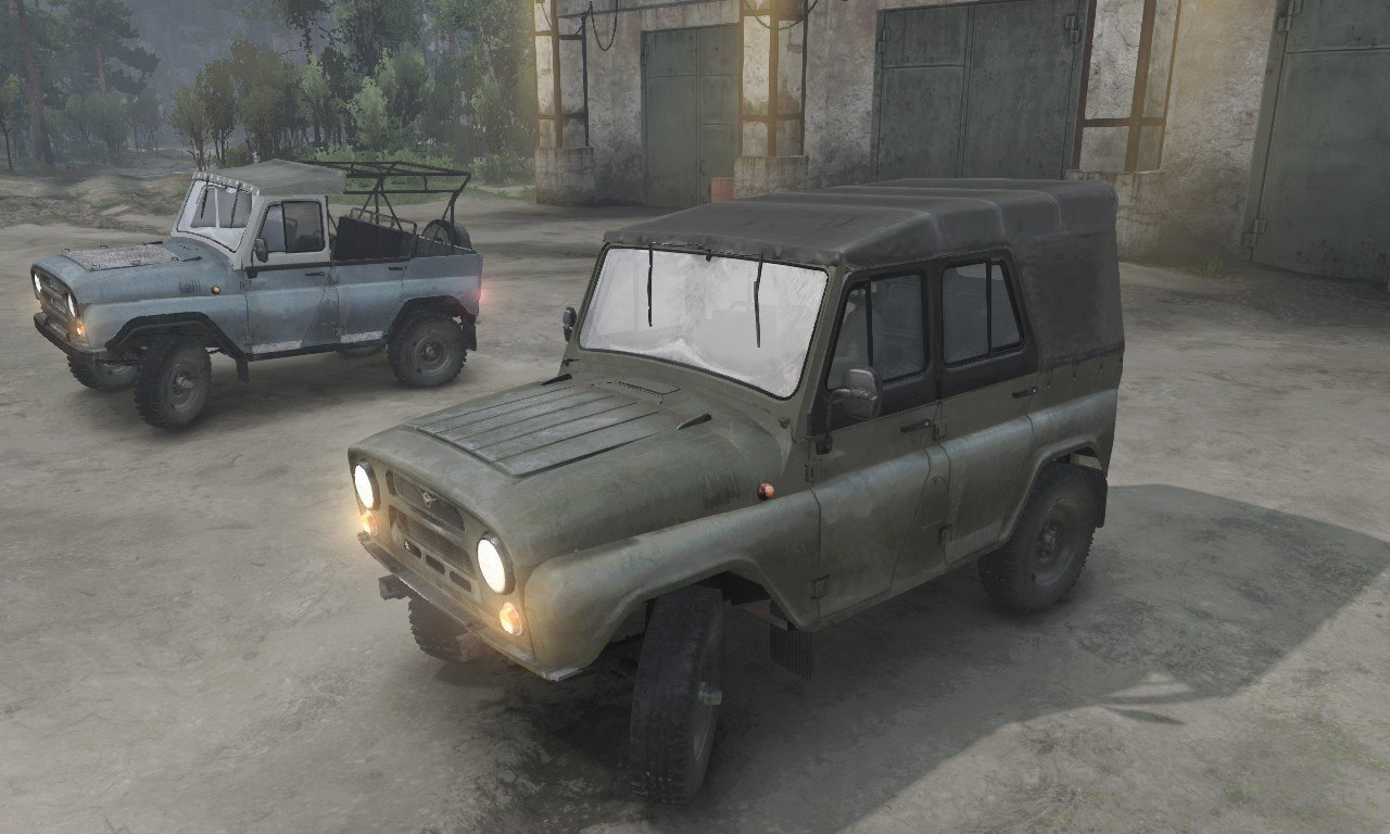 УАЗ-31512/3151 для 03.03.16 для Spintires - Скриншот 1