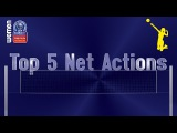 Stars in Motion: Top 5 Most Spectacular Net Actions - Volleyball Champions League Women - PO12 Leg 1