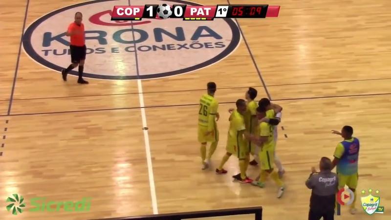 Gols Copagril 3x1 Pato - 2º Turno 6ª Rodada Paranaense Série Ouro 2018 (01082018)