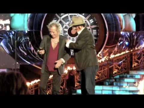 Johnny Dep Keith Richards at 2009 Scream awards m4v