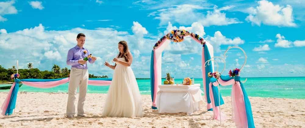 Розовый и бирюзовый: свадьба Евгения и Ксении в нежных тонах 85
