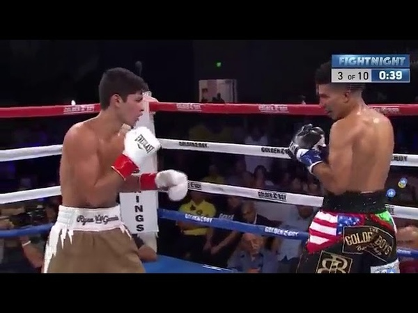 Ryan Garcia vs. Carlos Morales - Full Fight