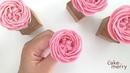 Buttercream flower: english rose