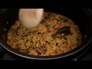 Постный Плов с Грибами _ Rice Pilaf With Mushrooms Recipe