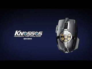 Professional Laser Gaming Mouse - Knossos ZM-GM4