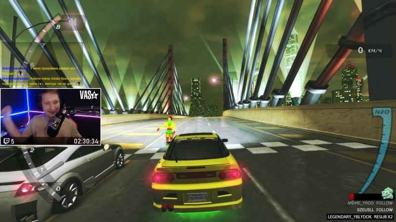 Need for Speed Underground 2 - Сальтуля, двойной бэкфлип, переворт, вапще ахуена)