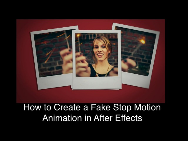 How to Create a Fake Stop Motion Animation in After Effects