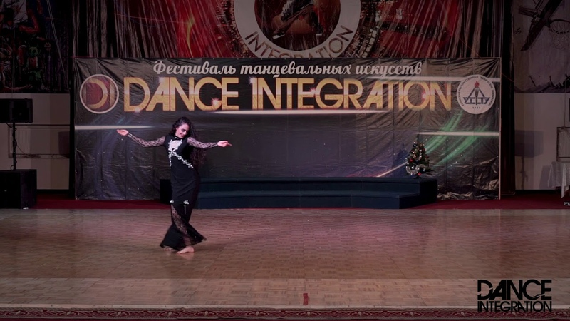 Dance Integration 2018 203 Муравьева Алиса Наргиз Ухта