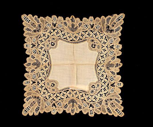 Носовые платки середины XIX