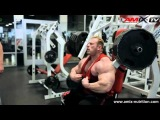 Dennis Wolf training Chest and Calves from 2013 Mr Olympia
