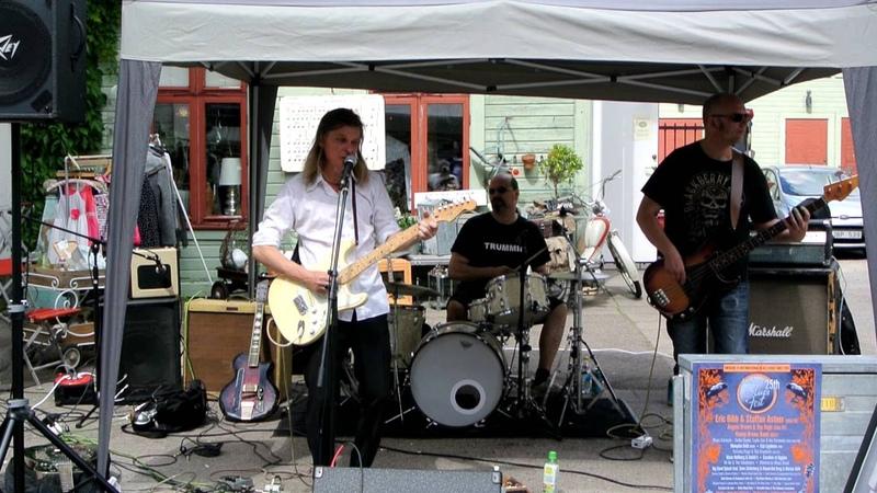 Robert Lighthouse på Åmåls Blues Fest 2016