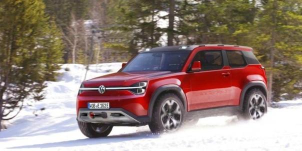 Volswagen выпустит электрического конкурента Land Rover Defender.