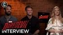Daredevil Season 3 Interview with Charlie Cox, Deborah Ann Woll