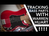 Recording Session with Multi Platinum Producer Warren Huart /// Scott's Bass Lessons