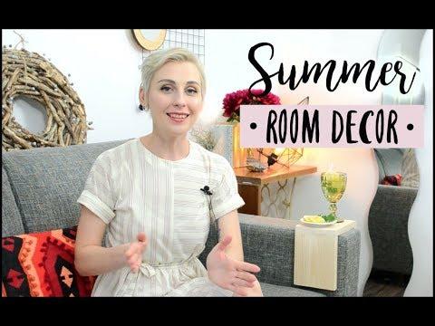 Летний ДЕКОР КОМНАТЫ 2018 Summer ROOM DECOR