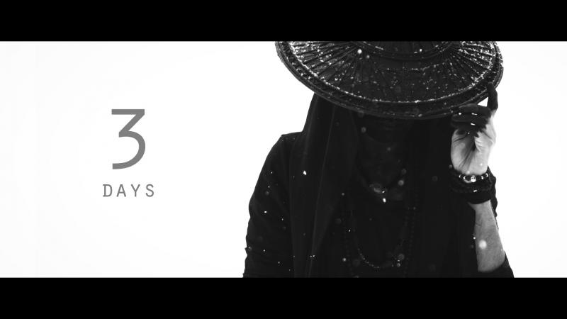 3 дня до выхода клипа SAMURAI