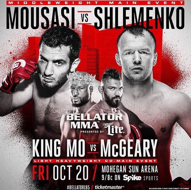 Шлеменко против Мусаси Bellator