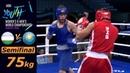 (75kg) Uzbekistan vs Kazakhstan /Semifinal AIBA Youth World 2018/