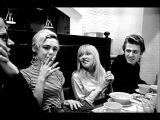 Bibbe Hansen Edie Sedgwick & Andy Warhol