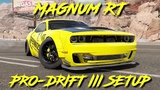 Magnum RT Pro-Drift III Custom Setup (Dodge Challenger)  CarX Drift Racing 2