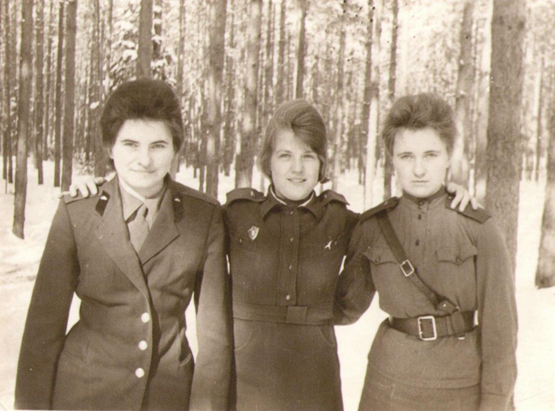 В годы военной службы