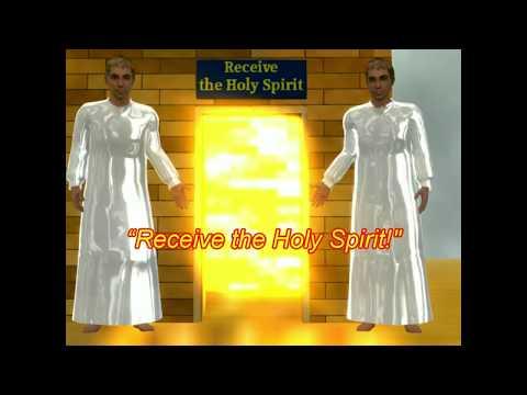 Animación que nos muestra quién y por qué recibe el Espíritu Santo