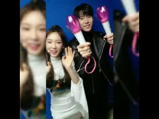 190323 Doyoung (NCT) & Taeyeon (SNSD) @ SMTOWN Instagramm Update