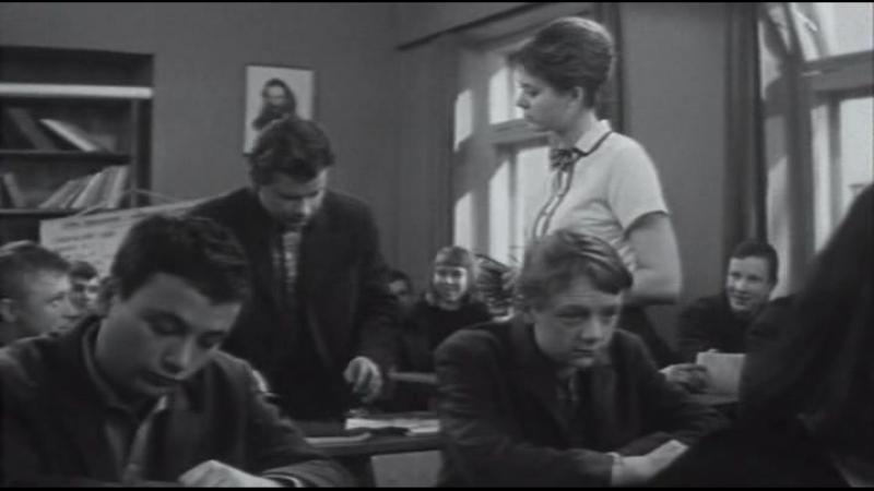 Я вас любил сочинение на вольную тему 1967 СССР фильм лирическая комедия