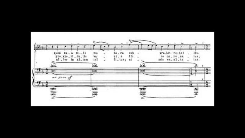 2.- Fortune plango vulnera (Carmina Burana - C. Orff) Score Animation