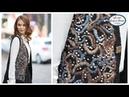 🔴İşlemeli Yelek Yapımı - Embroidery Vest w/ Alize Angora Gold Batik