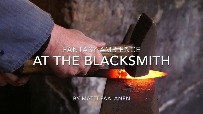 1 hour of fantasy ambience - At the Blacksmith