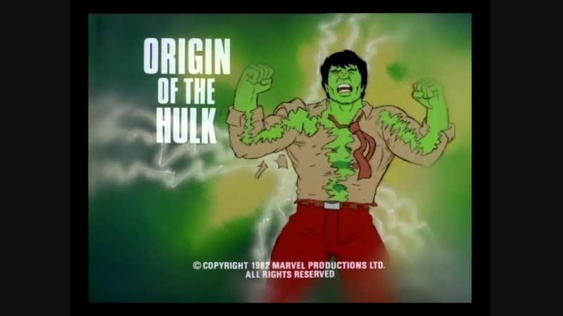 S01 E03 A Origem do Hulk (1982) Dublado