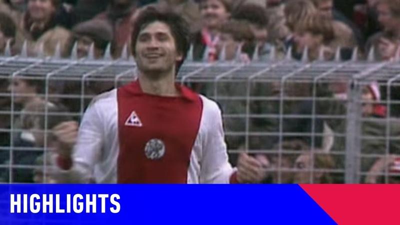 Highlights Ajax HFC Haarlem 06 12 1981