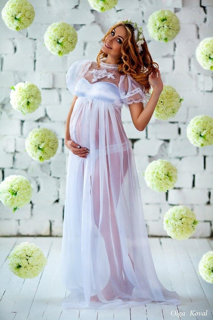 Аренда платьев для фотосессии беременных