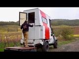 Couple's own Paris-Dakar using Land Rover transformer-camper