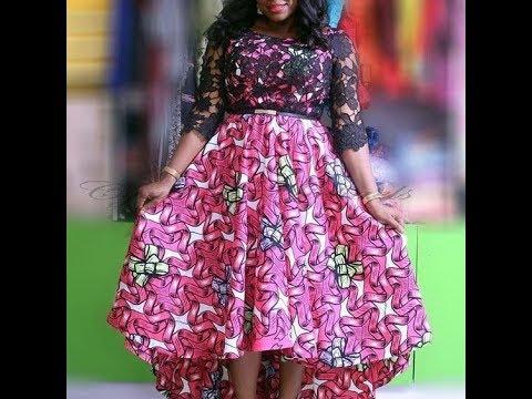 Best African Print Dresses 2018: Look Stunning, Beautiful On This Latest African Print Dresses.
