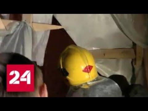 В Петербурге здании ИТМО приступили к разбору конструкций в зоне обрушения - Россия 24