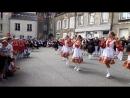 Rhythm Band на открытии Международного фестиваля Grand Fete de la Sainte Anne в г Брикебек на севере Франции Нормандия