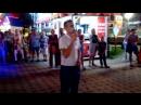 Караоке на Набережной в Анапе. Поет Евгений в свой День Рождения 11.09.2017.