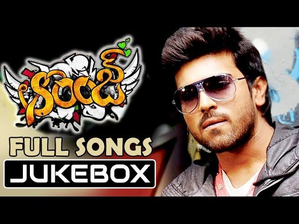 Orange ఆరెంజ్ Telugu Movie Songs Jukebox Ram Charan Genelia
