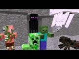 Monster School  Combat   Minecraft Animation ЮМОР, ПРИКОЛЫ