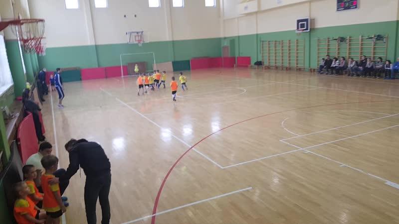 1 тур. Юниор - Кузбасс 2 (8-3) 2 тайм