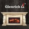 Glenrich - камины, печи,   электрокамины,барбекю